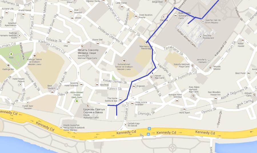 карта отель1