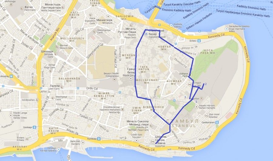 карта центр 2