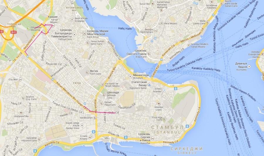карта общая 3