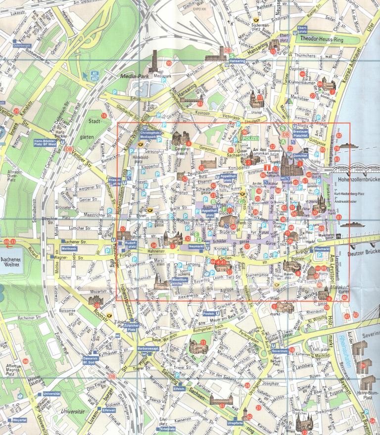 карта к
