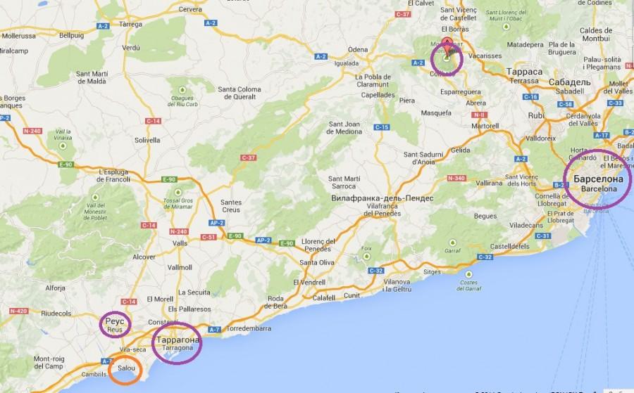 Каталония гугл 2