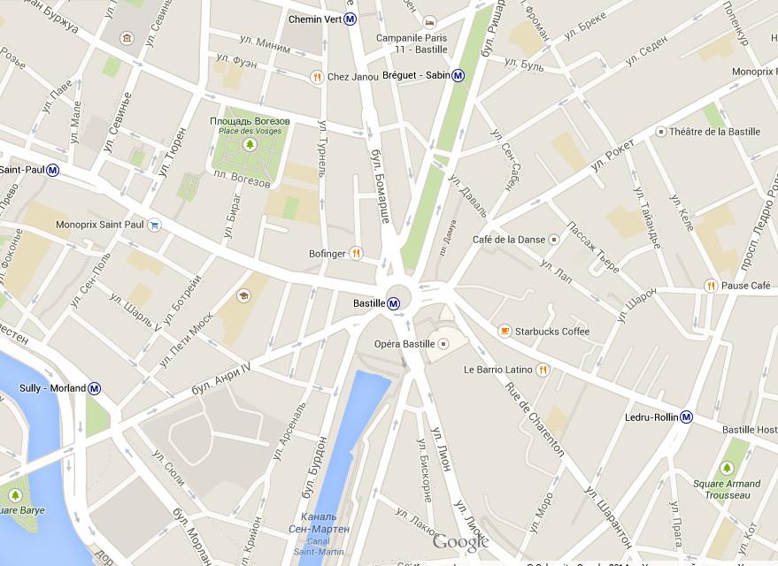 Гугл Бастилия