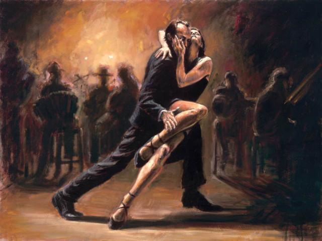 страсть, танго, драйв, эмоции
