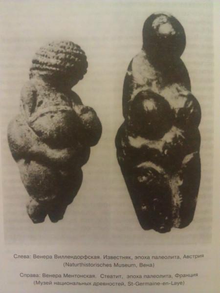 Венера Виллендорфская, Венера Ментонская
