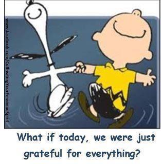 что если сегодня мы будем просто благодарны за все