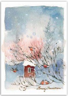 Minna Immonen, Новый Год, зима (5)