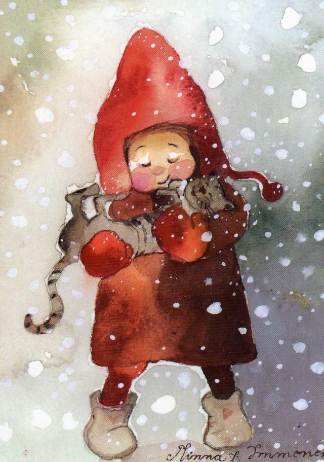 Minna Immonen, Новый Год, зима (12)