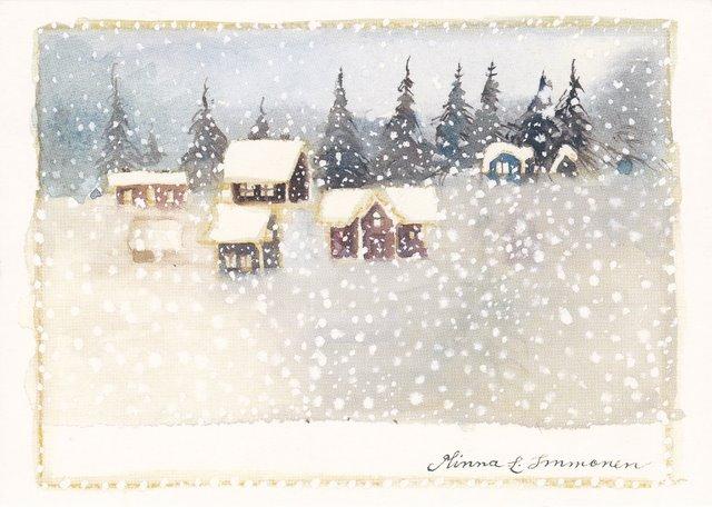 Minna Immonen, Новый Год, зима (29)