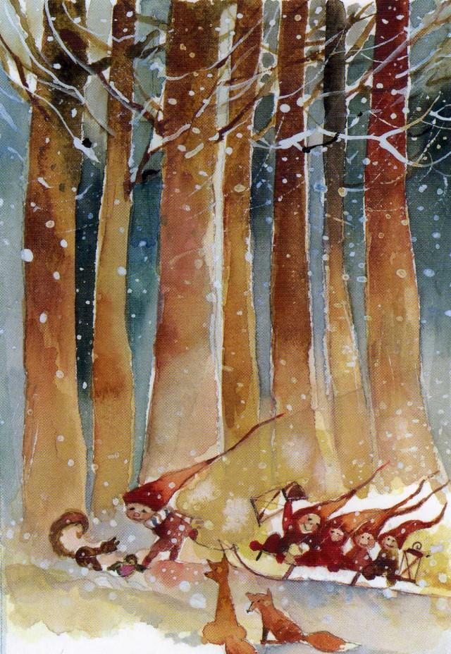 Minna Immonen, Новый Год, зима (48)
