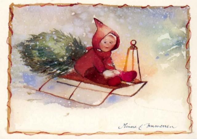 Minna Immonen, Новый Год, зима (66)