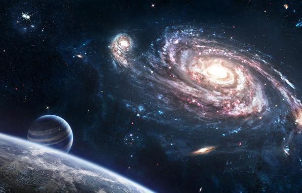 zemlya-kosmos-vselennaya