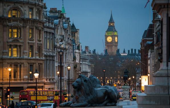 london-ulica-vecher