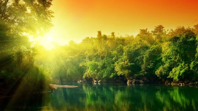 солнечные красивые картинки