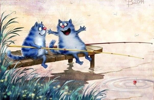 Картинки теплые коты