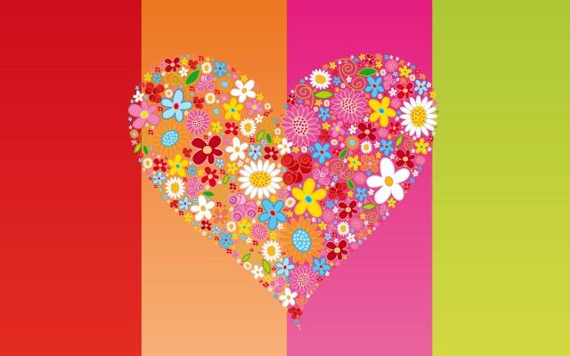 обои день святого валентина, обои любовь