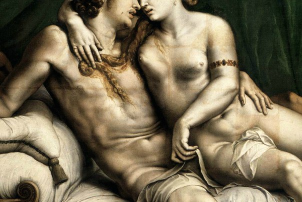 Джулио Романо - «Любовники» , 1525 год.jpg