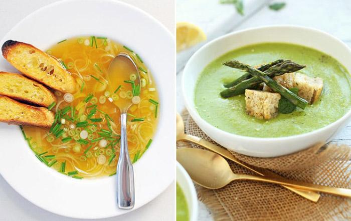 Суп вкусный и легкий