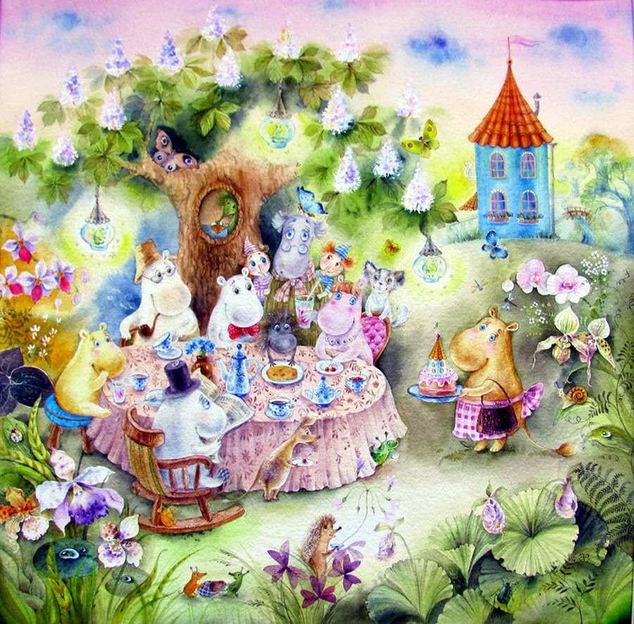 Красивые сказочные картинки в открытку