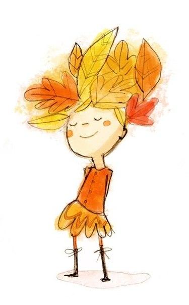 Картинки осень под пледом