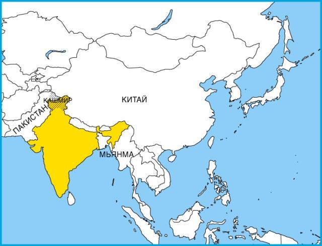 Член касты в индии