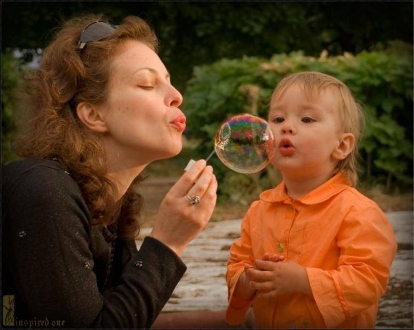 ребенок, дети, мыльные пузыри