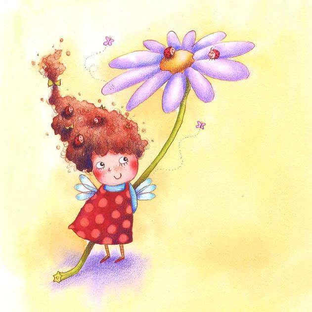 Melanie Florian, Мэлани Флориан, добрые картинки, девочка, сказки, добрые рисунки