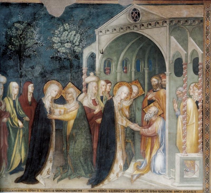 Встреча Марии и Елизаветы. Встреча Марии и Захарии.jpg