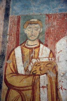 Pope Leo IV in San Clemente, Rome.jpg