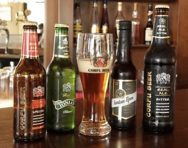 Пиво на Корфу