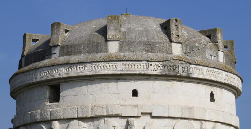 Мавзолей Теодориха купол.jpg