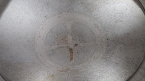 Мавзолей Теодориха купол снизу.jpg
