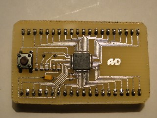 STM8S board