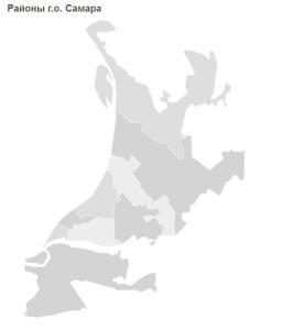 районы Самары