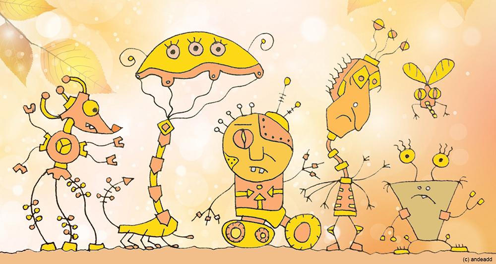 Роботы - несчастные, как мы