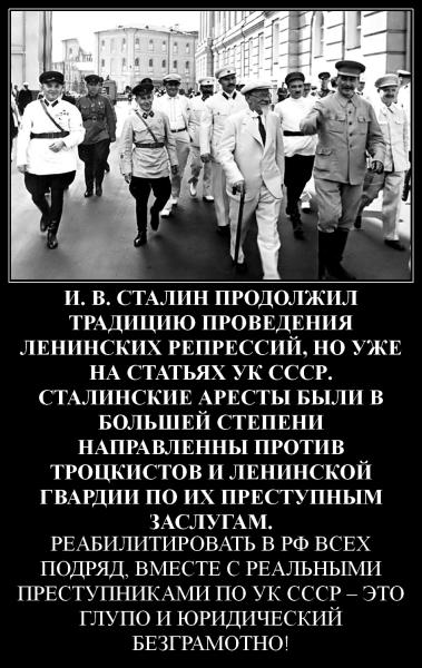 Сталин УК СССР