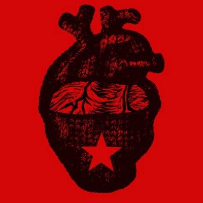 corazon ezln rojo