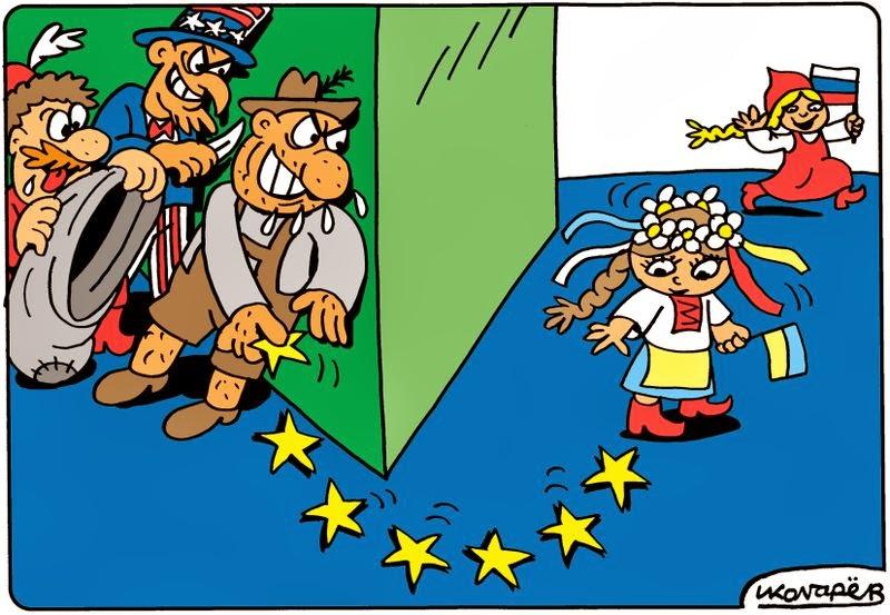 Ucrania seducida por la UE