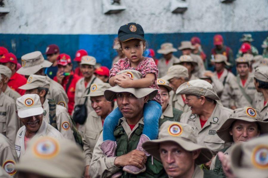 Марш Боливарианского ополчения (видео+перевод текста)