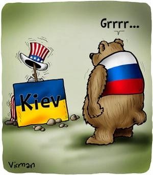 ucrania y el oso