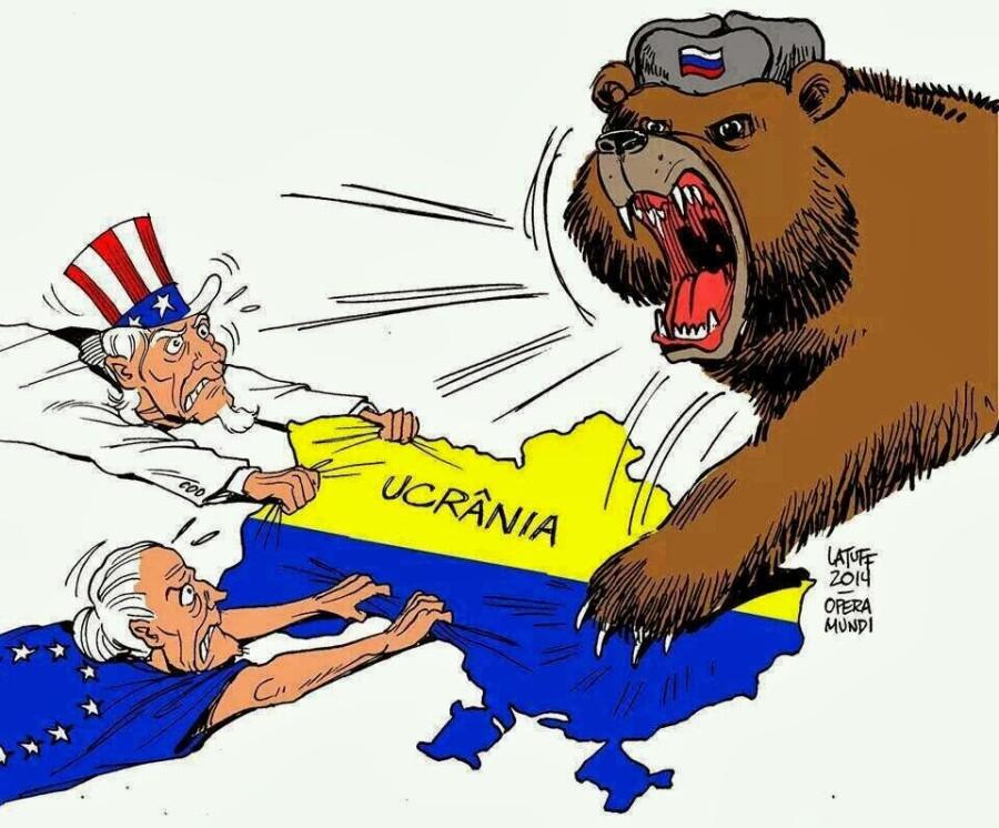 EEUU-UE, Rusia y Ucrania, Latuff