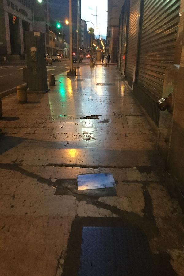 Прогулка по вечернему Каракасу в одиночку (фоторепортаж) -