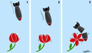 Flores vs Bombas