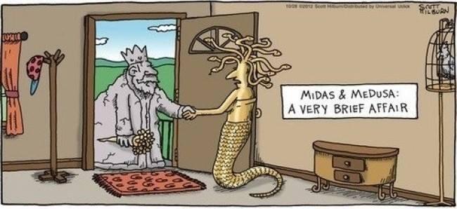 Midas and Gorgona