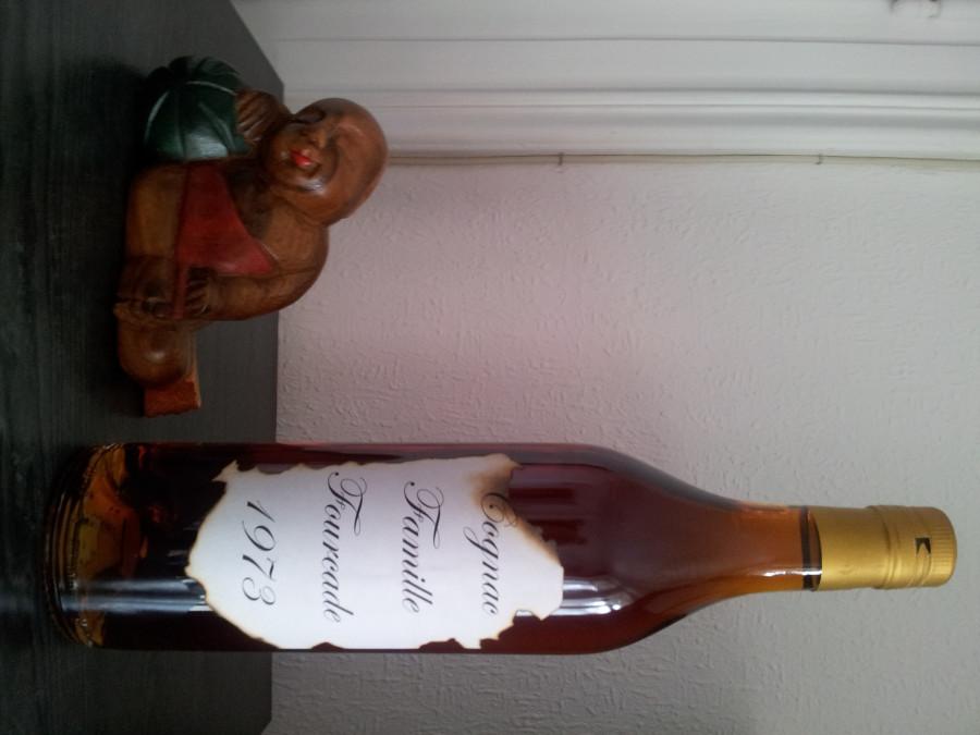 Cognac Fourcade 1973 et moi