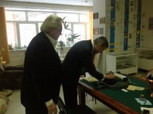 Та самая печатная машинка, на которой написаны две диссертации проф. Г.С. РозенбергаВведите описаниеТа самая печатная машинка, на которой написаны две диссертации проф. Г.С. Розенберга