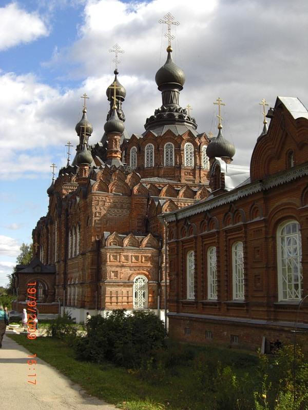 С.В. Шервуд. Казанский собор в Шамординском женском монастыре
