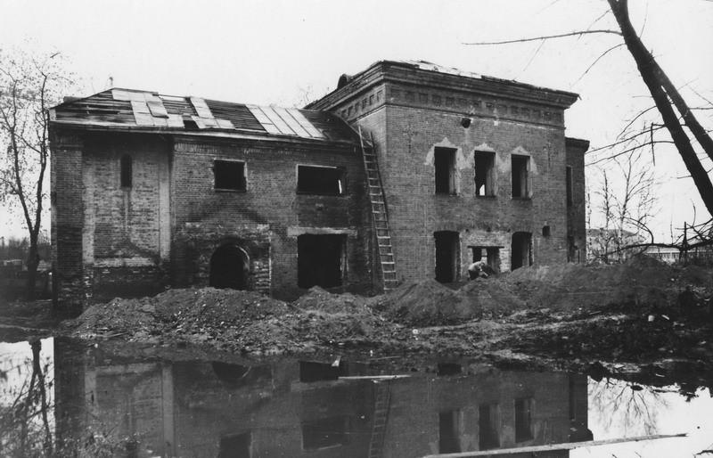 Вид_со-_двора_развалины_Остов храма 1989 год