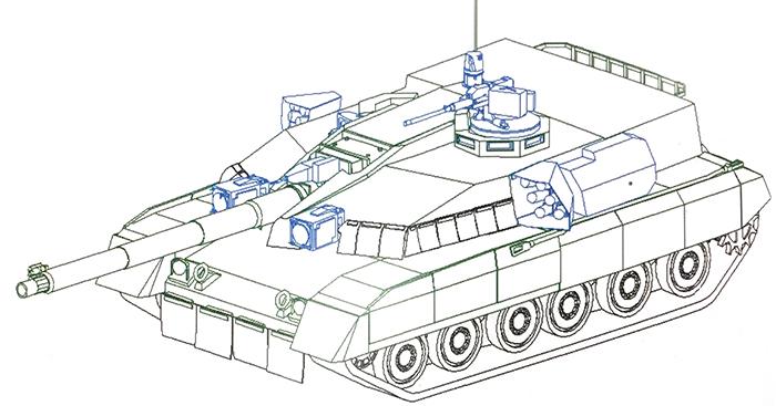 Интересный французско-украинский проект танка