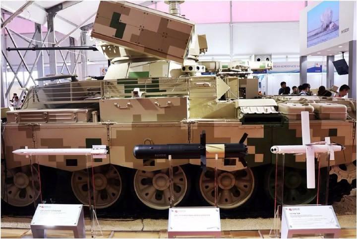«Китайский БМПТ» оказался скорее ракетным танком