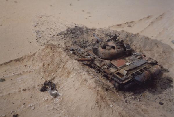 24 февраля 1991 началась наземная фаза операции «Буря в Пустыне»